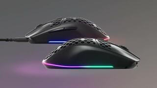 Теперь и в России SteelSeries представила сверхлегкие игровые мыши Aerox 3 и Aerox 3 Wireless