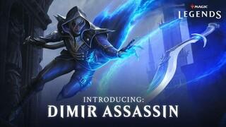 Обзорный трейлер класса Dimir Assassin в Magic Legends  того самого из боевого пропуска