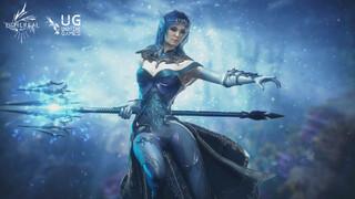 Защитница Эдоласа Марина и ее способности в геймплейном видео Ethereal Clash of Souls