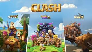Анонсированы сразу три игры во вселенной Clash of Clans   Clash Quest,   Clash Mini и   Clash Heroes