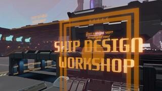 Starbase как выглядит строительство космических кораблей в режиме Easy Build Mode