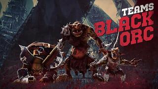 Черные орки в Blood Bowl 3 побеждают в футболе при помощи грубой силы