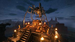 В патче 2.4 для Conan Exiles можно поклоняться богу-пауку и посещать новые территории