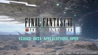 Дата регионального бета-теста Final Fantasy VII The First Soldier и полноценный геймплей