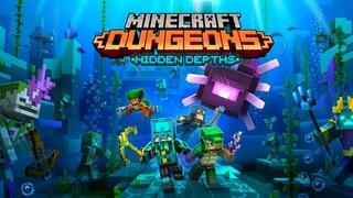 Новое DLC для Minecraft Dungeons выйдет в мае и отправит игроков в подводный мир