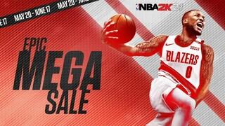 Бесплатная раздача баскетбольного симулятора NBA 2K21 началась вместе с Мегараспродажей в EGS