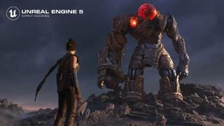 Движок Unreal Engine 5 вышел в раннем доступе  Можете качать и создавать собственные игры