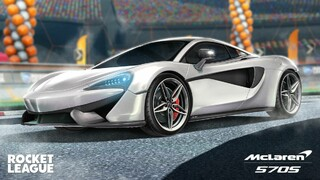 McLaren 570S возвращается в Rocket League