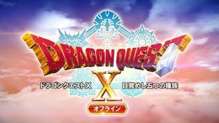 MMORPG Dragon Quest X получит одиночную оффлайн-версию