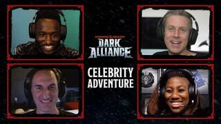 Приключение знаменитостей в Dark Alliance с участием комика Ганнибала Буресса и суперзвезды WWE Эмбер Мун