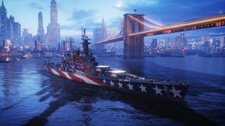 Альтернативные линкоры США стали доступны в World of Warships Legends