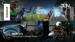 Демонстрация улучшенных визуальных эффектов в Dual Universe
