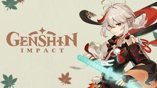 Способности Анемо-персонажа Каэдэхара Кадзуха из Genshin Impact показали в действии