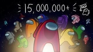 В раздаче Among Us через Epic Games Store участвовали 15 миллионов человек