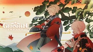 Трагическая судьба друга Казухи в сюжетном трейлере Genshin Impact