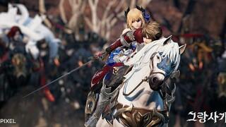 Кинематографический трейлер первого масштабного обновления MMORPG Gran Saga под музыку Криса Веласко