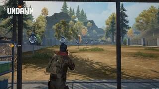 Показ оружия на учебном полигоне в Undawn