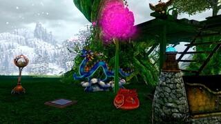 Долину цветущих прудов в ArcheAge заполонили лягушата