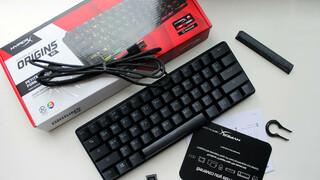 Обзор механической клавиатуры HyperX Alloy Origins 60