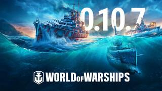 Подводные лодки появились в ранговых боях World Of Warships