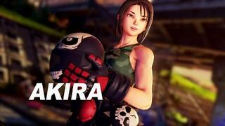 Байкерша Акира Казама в геймплейном трейлере Street Fighter V