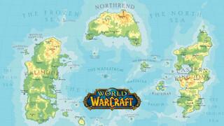 Фанат World of Warcraft создал правильную карту Азерота с учетом климата и рельефа