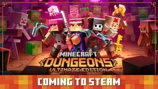 Minecraft Dungeons выйдет в Steam
