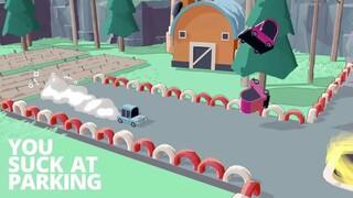 Трейлер игры про экстремальную парковку You Suck at Parking