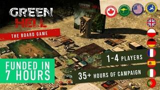 Настольная игра по мотивам Green Hell профинансирована на Kickstarter за 7 часов