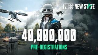 Более 40 миллионов игроков прошли предрегистрацию в  PUBG NEW STATE