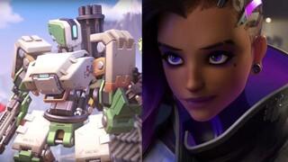 Blizzard рассказала об изменениях Сомбры и Бастиона в Overwatch 2