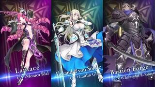 Лаплас, Александра вон Сонн и Бастьен Фордж в новых трейлерах Tales of Luminaria