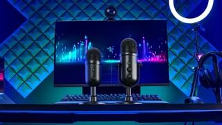 Новый динамический и конденсаторный микрофоны от Razer  Razer Seiren V2 Pro и  Razer Seiren V2 X