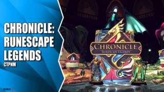 Стрим Chronicle: Runescape Legends. Знакомство с ККИ игрой