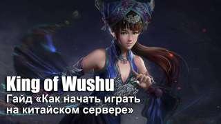 Гайд «Как начать играть в King of Wushu на китайском сервере»