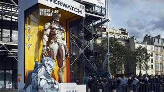 Как создавались статуи героев Overwatch