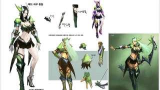 Как создавались персонажи MU Legend: Whisperer и Dark Lord