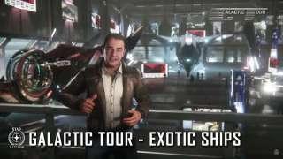Трейлер экзотических кораблей в Star Citizen