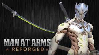 Команда Man At Arms изготовила оружие Гэндзи из Overwatch