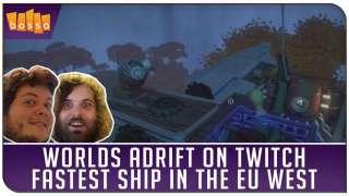 Самый быстрый корабль в Worlds Adrift