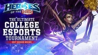Blizzard анонсировала турнир Heroes of the Dorm
