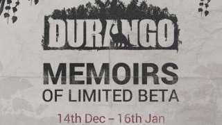 Официальная инфографика по бета-тесту игры Durango