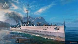 На сервера World Of Warships установлено обновление 0.6.1.