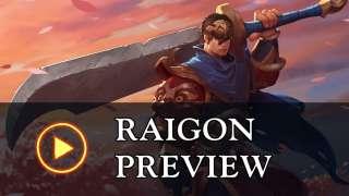 Обзор персонажа Raigon в Battlerite