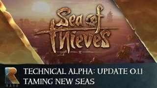 Разработчики Sea of Thieves выпустили обновление для альфа-версии