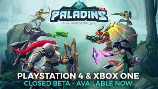 Началось закрытое бета-тестирование Paladins для Xbox One и PlayStation 4