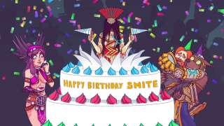 Smite отмечает День Рождения
