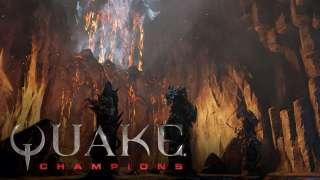 Разработчики Quake Champions показали арену Burial Chamber