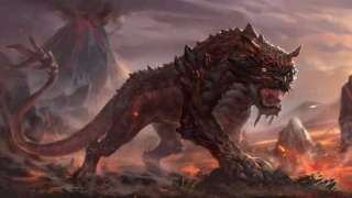 Скриншоты двух существ из Dark And Light и влияние на них окружающей среды