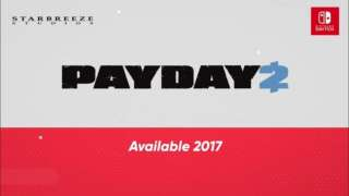 Состоялся анонс Payday 2 для Nintendo Switch